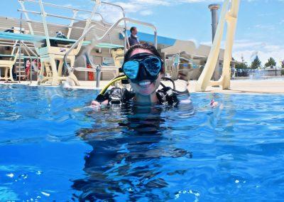 Pool day Scuba class